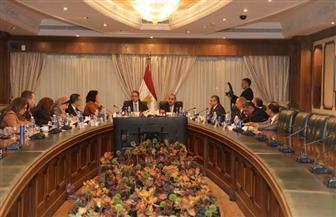 اجتماع تنسيقي بين وزيري الطيران المدني  والسياحة والآثار  صور