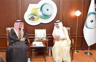 الأمين العام لمنظمة التعاون الإسلامي يستقبل وزير الخارجية الكويتي الجديد
