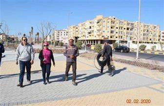 نائبة محافظ البحر الأحمر تقود حملة للقضاء على المخلفات في بعض مناطق الغردقة| صور