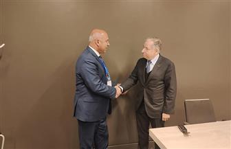 وزير النقل يبحث مع مبعوث أممي تعزيز مفهوم سلامة الطرق في مصر