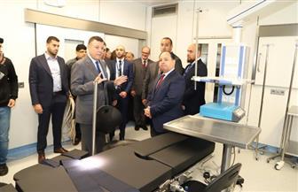 جامعة عين شمس تفتتح جناح العمليات الكبرى بالمستشفى التخصصي بحضور وزير المالية |صور