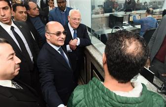 وزير العدل يشيد بمستوى تطور إدارات بورسعيد بعد تطبيق منظومة التحول الرقمي | صور