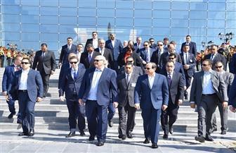 الرئيس السيسي يصطحب نظيره البيلاروسي في جولة تفقدية بالعاصمة الإدارية | صور