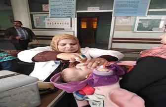 محافظ قنا: تطعيم ٥٧٩ ألف طفل ضد مرض شلل الأطفال | صور