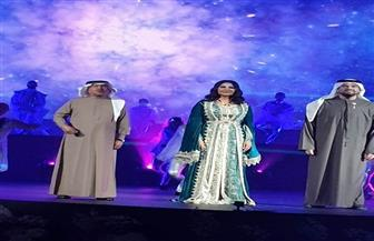 الجسمى وأحلام  وأشرف زكي وسوزان نجم الدين فى الفجيرة | صور