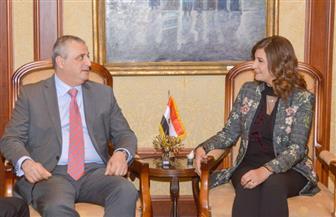 وزيرة الهجرة تستقبل نائب وزير الخارجية الأرميني وترحب بعقد فعاليات ثقافية مشتركة   صور