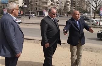 محافظ القاهرة يتفقد أعمال التطوير بجسر السويس | صور
