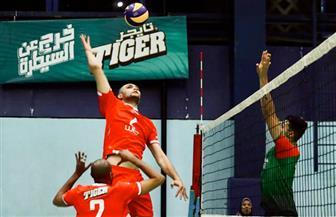 الأهلى يفوز على خبيل اليمني في البطولة العربية للأندية للكرة الطائرة