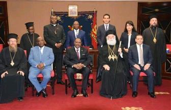 سفير مصر بمالاوي يستقبل بطريرك الروم الأرثوذكس بمصر