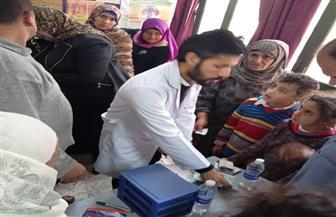 قافلة طبية توقع الكشف على 3200 مواطن في قرية إبشواى الملق بالغربية | صور