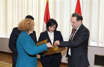 تكريم مصر في افتتاح معرض بلجراد الدولي للسياحة | صور