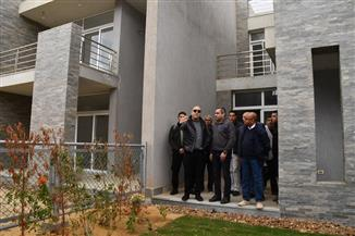 """وزير الإسكان يتفقد الموقف التنفيذي للحي السكني الثالث """" كابيتال ريزيدانس"""" بالعاصمة الإدارية الجديدة"""