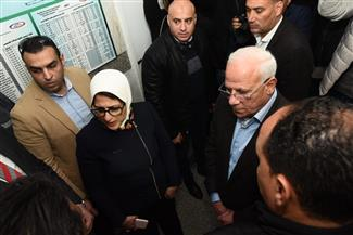 وزيرة الصحة توجه الالتزام بتوقيتات تطوير مستشفى المبره ببورسعيد  صور