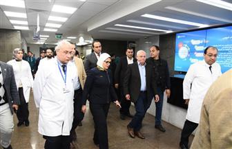 وزيرة الصحة توجه بتوفير بعثات للأطباء لنقل الخبرات لمنظومة التأمين الصحي الشامل ببورسعيد |صور