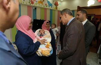 محافظ كفر الشيخ  يتفقد دار الأيتام الرضع للاطمئنان على مستوى الرعاية |صور