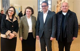وزير السياحة والآثار يقوم بجولة تفقدية للمتاحف الكبرى بأثينا| صور