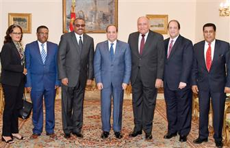 تفاصيل لقاء الرئيس السيسي مع المبعوث الخاص لرئيس وزراء إثيوبيا