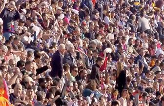جماهير برشلونة ترفع الرايات البيضاء في كامب نو
