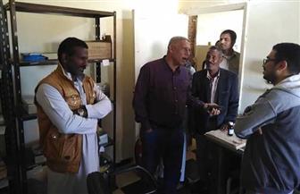 في أول يوم عمل.. رئيس «مرسى علم» الجديد يتفقد قرى الجنوب | صور