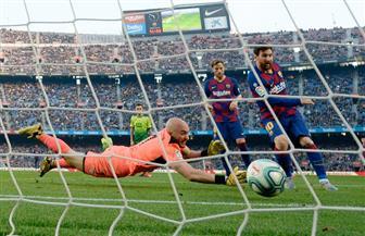 سوبر ميسي يعيد برشلونة إلى صدارة الدوري الإسباني مؤقتا