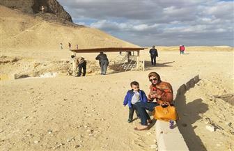 """""""آثار"""" الفيوم: وفود سياحية أجنبية ومصرية تزور مناطق أثرية بالمحافظة  صور"""