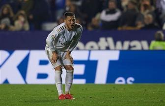 ريال مدريد يؤكد إصابة «هازارد» في الفخذ الأيمن