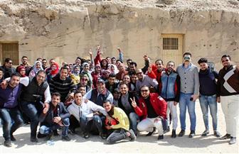 جولة سياحية للمعسكر الشبابي لحزب الحركة الوطنية | صور