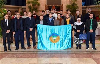 «العربية للتصنيع» تستقبل طلبة جامعة طنطا   صور