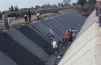 مشروع قومي يوفر 5 مليارات متر مكعب مياه.. تبطين 7 آلاف كم من الترع المتعبة بتكلفة 18 مليار جنيه حتى 2022