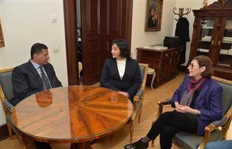 نائب وزير السياحة والآثار تدعو من صربيا للسياحة الثقافية إلى مصر| صور