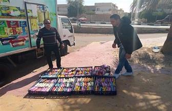 ضبط 253 قطعة عجائن منتهية الصلاحية معروضة للبيع داخل سيارة في طور سيناء| صور