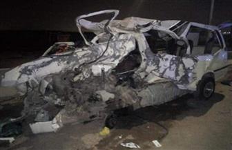 مصرع وإصابة 15 شخصا في حادث مروع بطريق الشروق| صور
