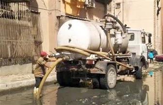 محافظ بورسعيد يوجه بسرعة رفع مياه الأمطار من الشوارع والميادين