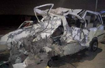 بسبب سوء الأحوال الجوية.. إصابة شخصين في حادث تصادم  بالطريق الدولي جنوب سيناء