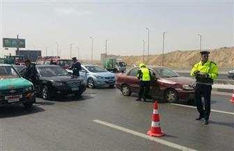حملات مرورية بالطرق والمحاور للحد من وقوع الحوادث