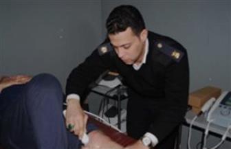 الكشف على 137 مواطنا بمستشفيات الشرطة بالمجان
