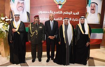 عبدالعال يهنئ سفير الكويت بالقاهرة بالعيد الوطني الـ59 لبلاده | صور