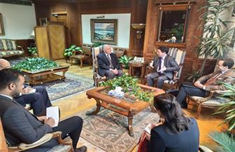 وزير الري يطلع وفدا فرنسيا على تحديات الوضع المائي المصري | صور