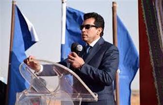 وزير الرياضة يشهد المؤتمر الصحفي لبطولة بلاك بول الدولية للإسكواش