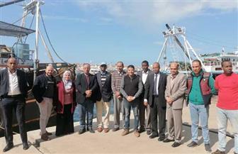 وفد صومالي يزور دمياط للتعرف على قطاع الصيد في عزبة البرج