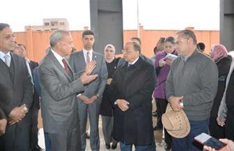 شعراوي والهجان يزوران المحطة الوسيطة بحي شرق شبرا الخيمة | صور