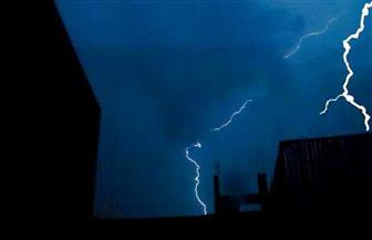 سيول وبرق ورعد في السويس