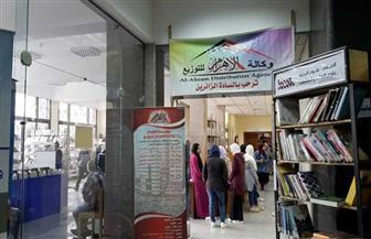 جامعة حلوان تعلن انطلاق معرض الكتاب الرابع بمشاركة 17 دار نشر|صور