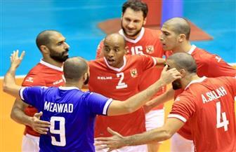 الأهلي يفوز على السلام العماني في البطولة العربية للأندية للكرة الطائرة