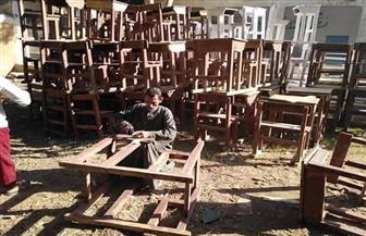 محافظ أسيوط: إعادة تدوير وإصلاح الرواكد والخردة بالإدارات التعليمية والوحدات المحلية | صور