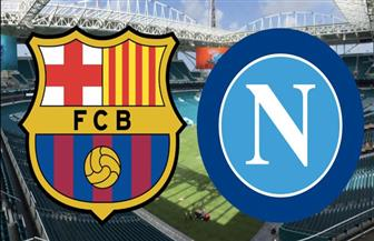 """الحسم في """"كامب نو""""... برشلونة يتعادل مع نابولي في دوري الأبطال"""