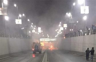 محافظة القاهرة: هبوط أرضي في نفق الثورة بالكوربة.. وجار إصلاحه