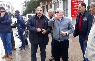 محافظ بورسعيد يوجه بسرعة الانتهاء من أعمال محيط المجمع الإسلامي ببورفؤاد استعدادا لافتتاحه | صور