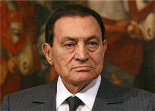 رئيس الإمارات ونائبه ومحمد بن زايد  يعزون الرئيس السيسي في وفاة حسني مبارك