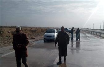 رئاسة مدينة نخل بشمال سيناء تتابع شبكات المجاري المائية بالقرى والتجمعات | صور